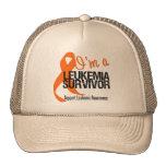 I'm a Leukemia Survivor Trucker Hat