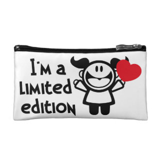 i'm a limited edition cosmetic cosmetic bag