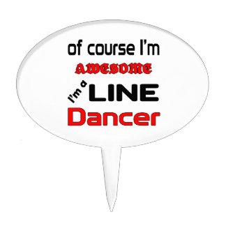 I'm a Line Dancer Cake Topper