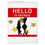 I'm A Line Dancer Greeting Cards
