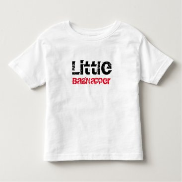 McTiffany Tiffany Aqua Im a Little BagNapper Toddler T-shirt
