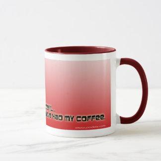 """""""I'm a Little Devil"""" mug"""