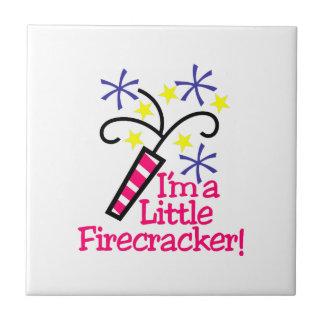 Im a Little Firecracker Tile