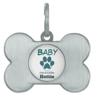 Im A Little Hottie Personalized Pet Dog Tag