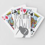 I'm a little kiwi with cute New Zealand bird Poker Cards