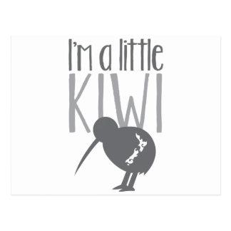 I'm a little kiwi with cute New Zealand bird Postcard