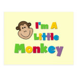 I'm a Little Monkey Tshirts and Gifts Postcards