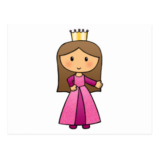 I'm a little Princess Postcard