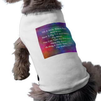 I'm A Little Shitzu Dog T-shirt
