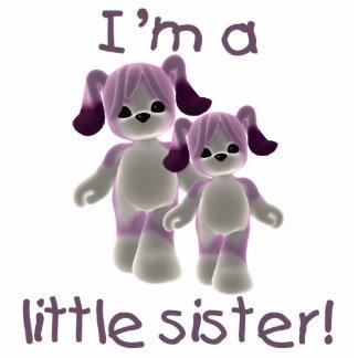 I'm a little sister (purple puppies) statuette
