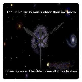 I'm A Little thinker Universe Wall Clock