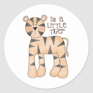 I'm A Little Tiger Stickers