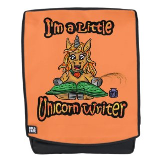 I'm A Little Unicorn Writer Back Pack
