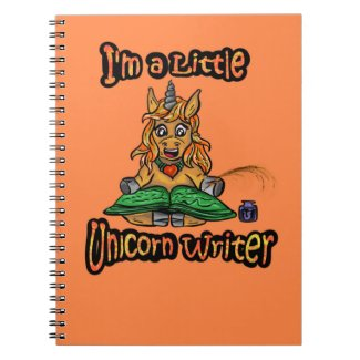 I'm A Little Unicorn Writer Spiral Notebook