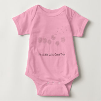 I'm a Little Wish Come True Baby Shirt