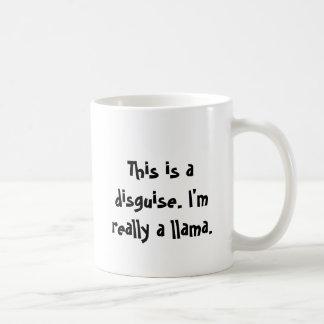 I'm a llama coffee mug