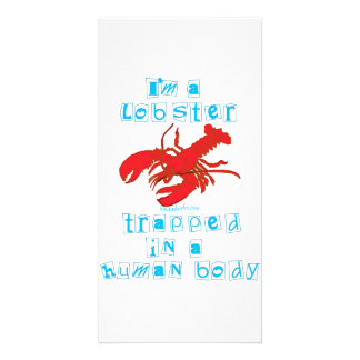 I'm a Lobster Photo Card