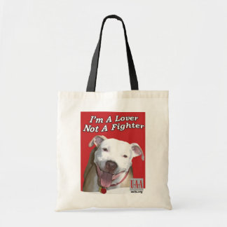 I'm a Lover not a Fighter Budget Tote Bag