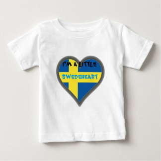I'm A Lttle Swedeheart Baby Clothes Tshirts
