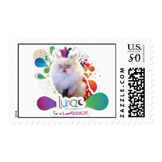 I'm a LunADDICT stamps