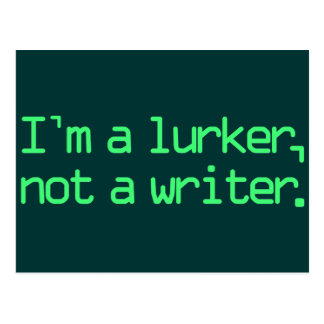 I'm a Lurker Postcard