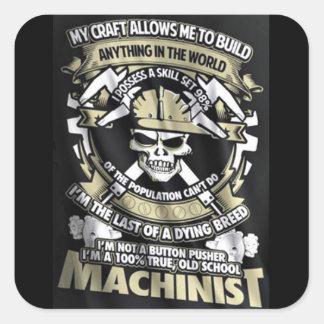 I'm a Machinist Sticker