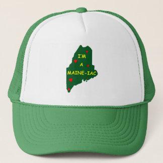 I'M A MAINE IAC TRUCKER HAT
