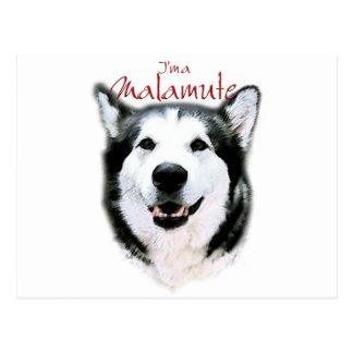 I'm a Malamute - Smile Postcard