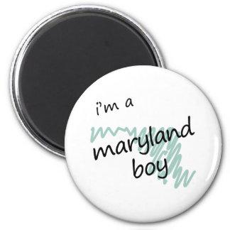 I'm a Maryland Boy 2 Inch Round Magnet