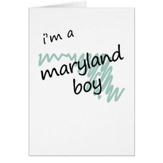 I'm a Maryland Boy Card