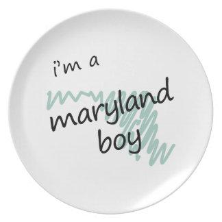 I'm a Maryland Boy Dinner Plate