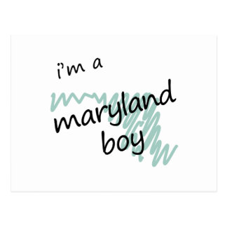 I'm a Maryland Boy Postcard