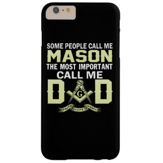I'm a MASON and a DAD Barely There iPhone 6 Plus Case