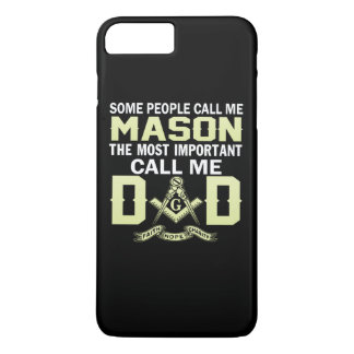 I'm a MASON and a DAD iPhone 8 Plus/7 Plus Case