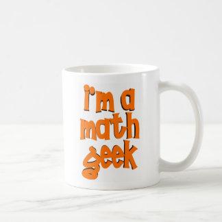 I'm a math geek coffee mug
