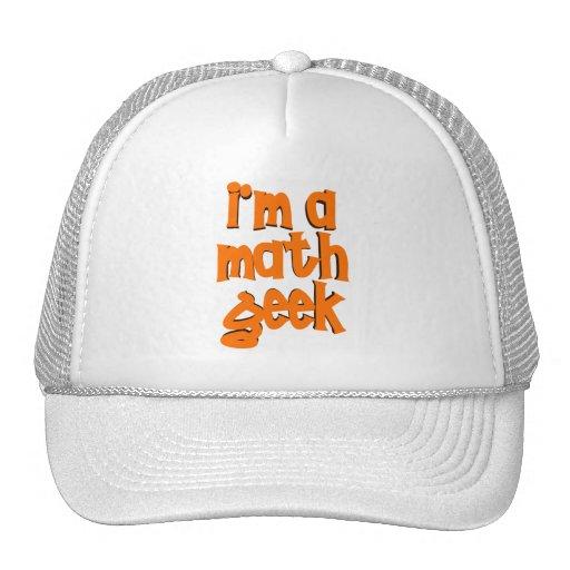 I'm a math geek trucker hat