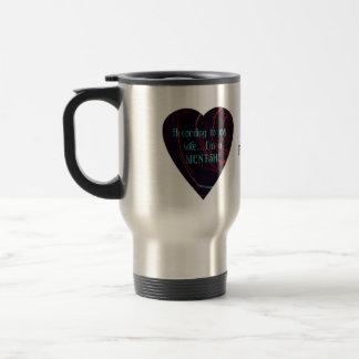 I'm a Mentsh! Travel Mug