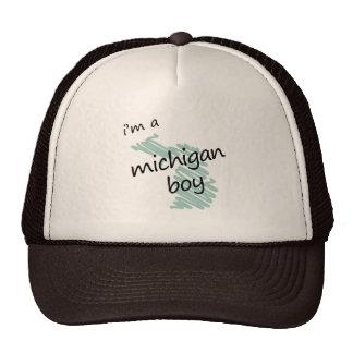 I'm a Michigan Boy Mesh Hat