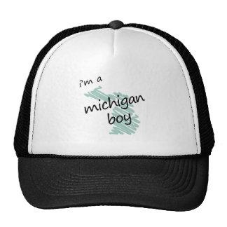 I'm a Michigan Boy Mesh Hats