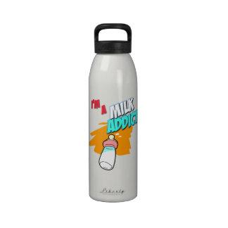 I'm A Milk Addict Water Bottle