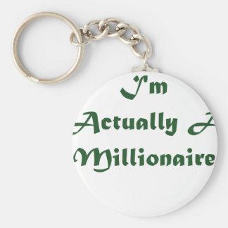 I'm A Millionaire Keychain