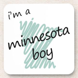 I'm a Minnesota Boy Beverage Coaster