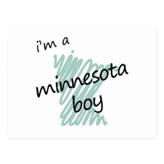 I'm a Minnesota Boy Postcard