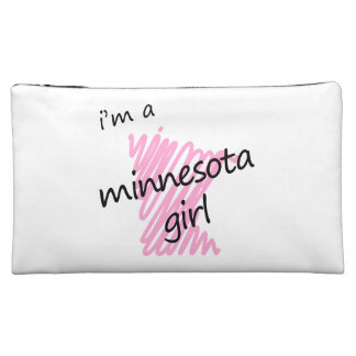 I'm a Minnesota Girl Cosmetic Bags