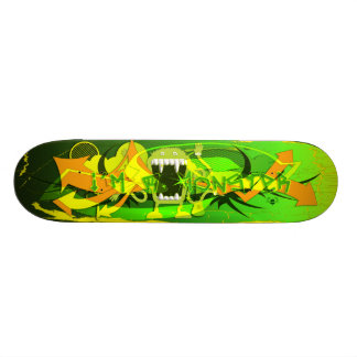 I'm A Monster - Custom Skateboard
