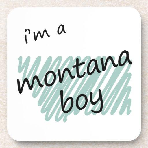 I'm a Montana Boy Drink Coasters