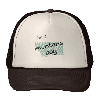 I'm a Montana Boy Hat