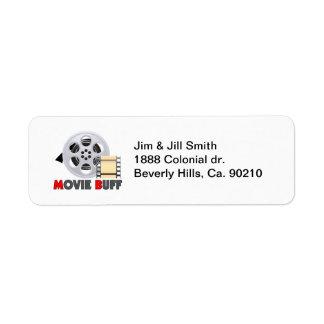 I'm A Movie Buff Label