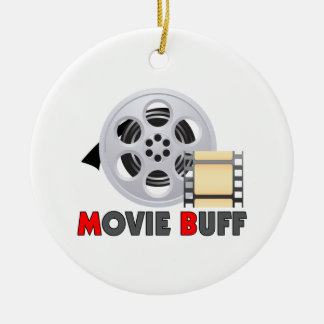 I'm A Movie Buff Christmas Ornament