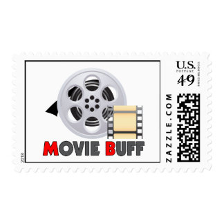 I'm A Movie Buff Postage Stamps